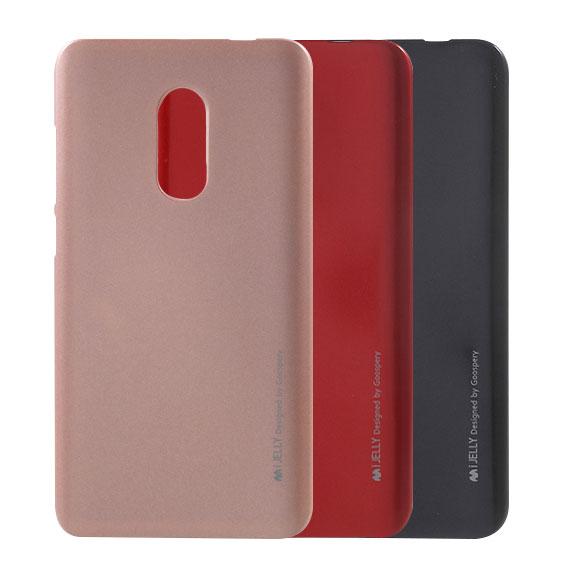 TPU чехол Mercury iJelly Metal series для Xiaomi Redmi Note 4 (MTK)