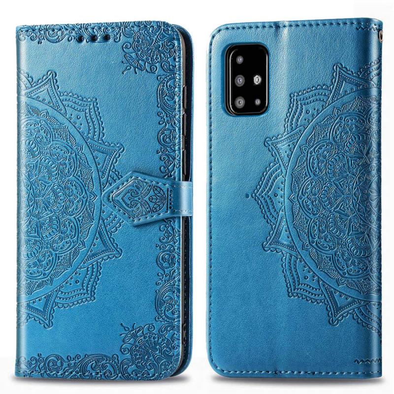 Кожаный чехол (книжка) Art Case с визитницей для Samsung Galaxy A51