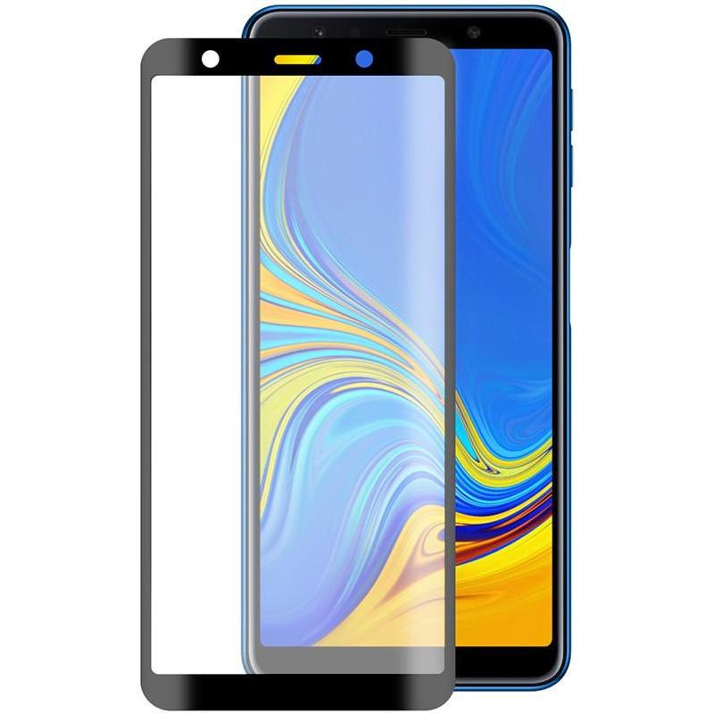Защитное стекло XD+ (full glue) (тех.пак) для Samsung A750 Galaxy A7 (2018)