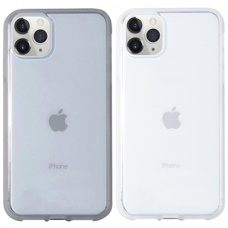 """Прозрачный силиконовый чехол с матовой окантовкой для Apple iPhone 11 Pro Max (6.5"""")"""