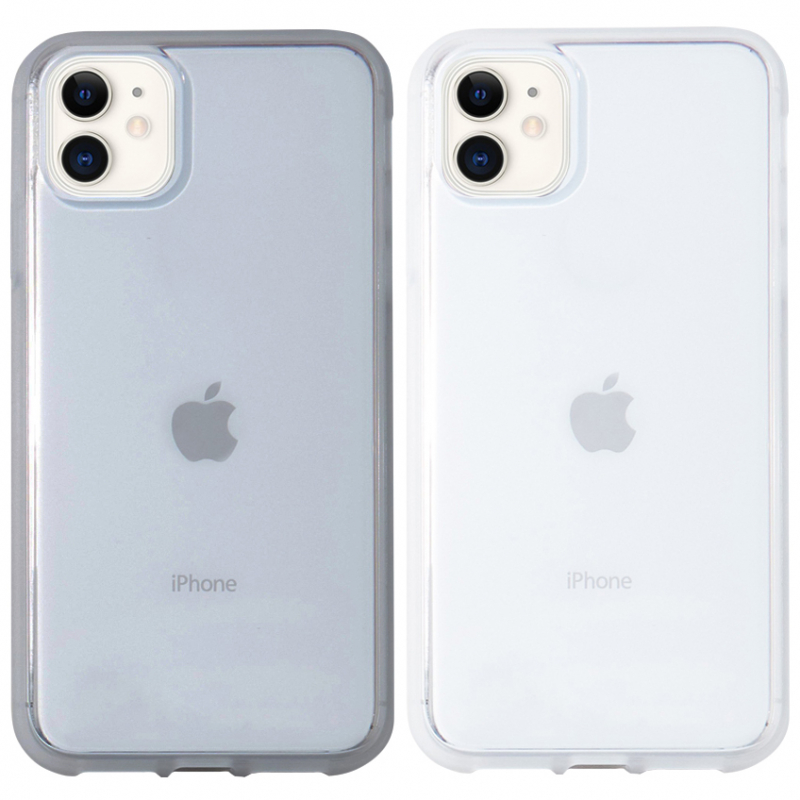 """Прозрачный силиконовый чехол с матовой окантовкой для Apple iPhone 11 (6.1"""")"""