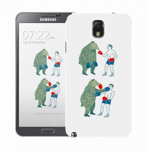 Чехол «Bear man» для Samsung Galaxy Note 3 N9000/N9002