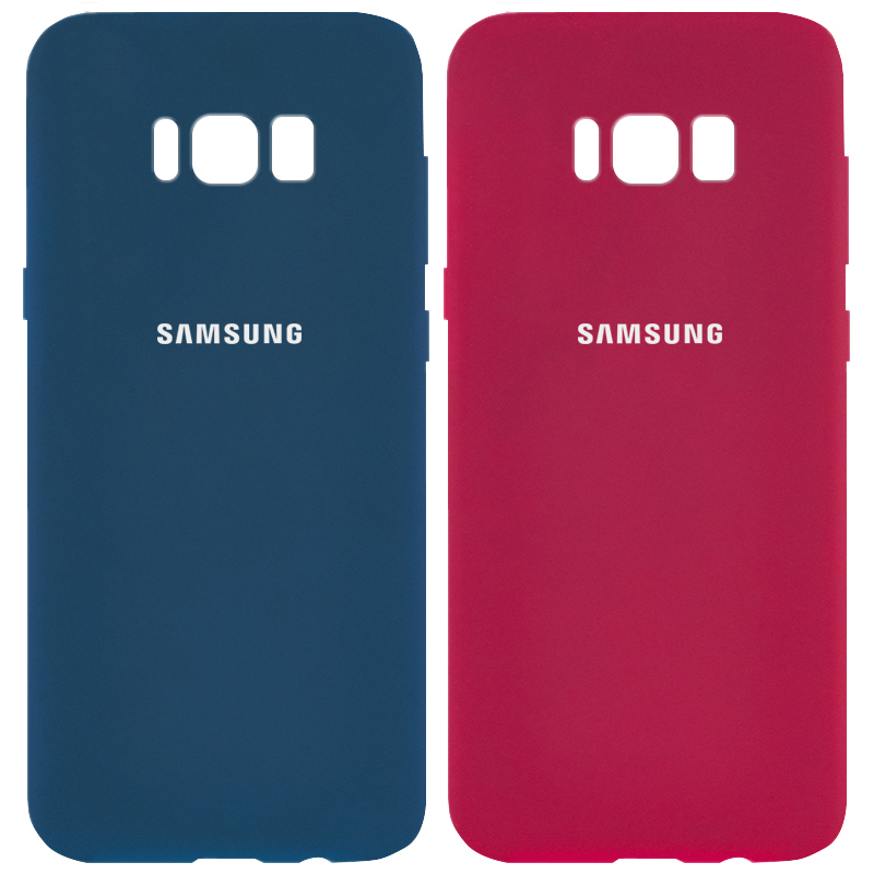 Чехол Silicone Cover Full Protective (AA) для Samsung G955 Galaxy S8 Plus