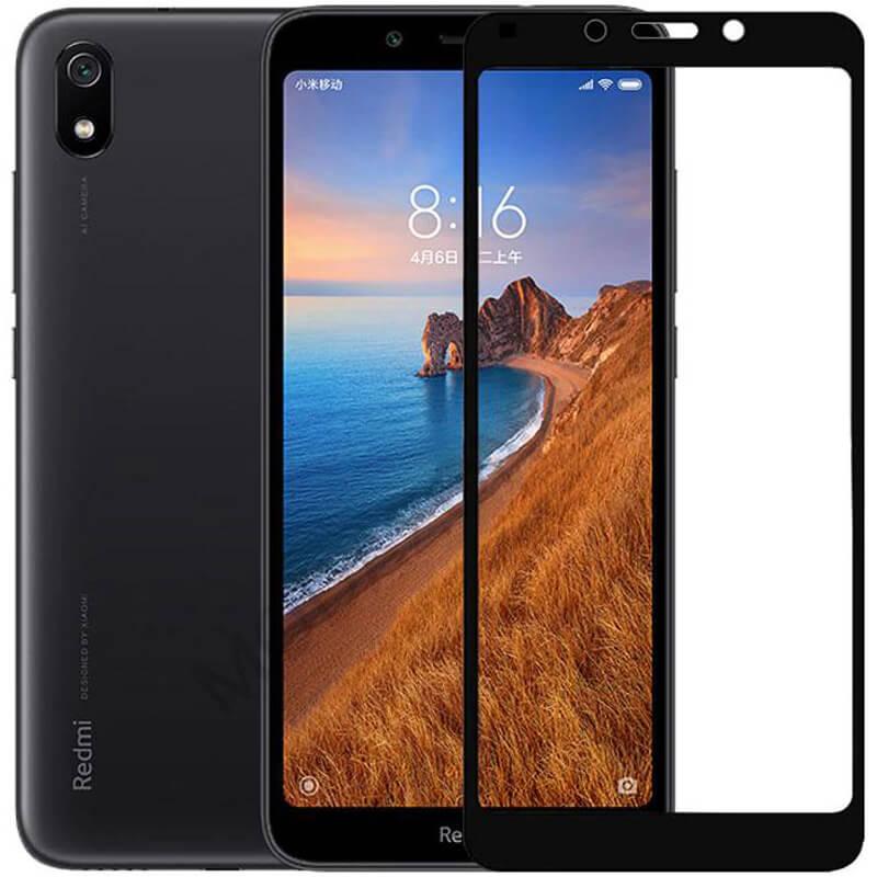 Защитное цветное стекло Mocolo (full glue) на весь экран для Xiaomi Redmi 7A