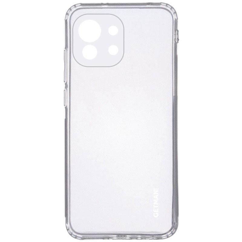 TPU чехол GETMAN Clear 1,0 mm для Xiaomi Mi 11