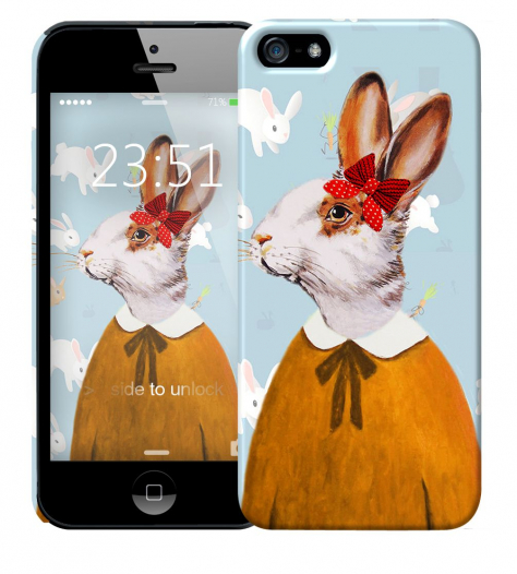 Чехол «Lady Bunny» для Apple iPhone 5/5s