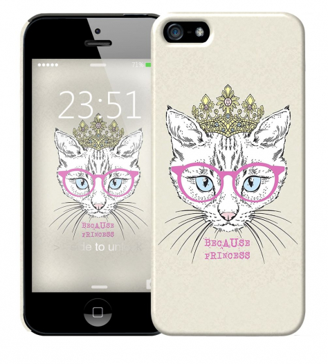 Чехол «Princess» для Apple iPhone 5/5s
