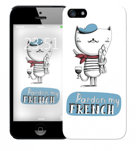 Чехол «French» для Apple iPhone 5/5s