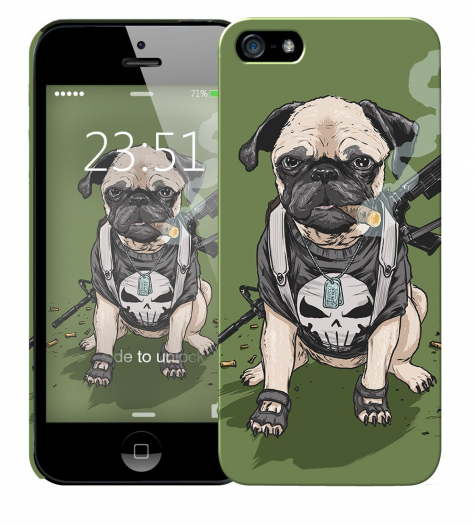 Чехол «Dog» для Apple iPhone 5/5s