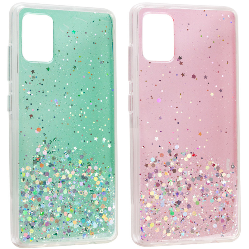 TPU чехол Star Glitter для Samsung Galaxy A51