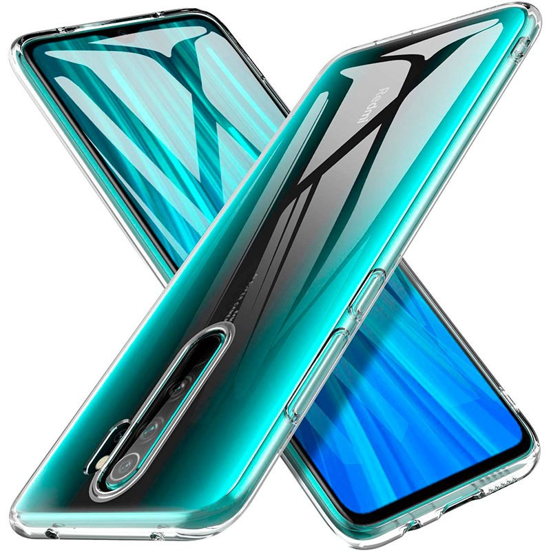 TPU чехол Epic Transparent 1,0mm для Xiaomi Redmi 9