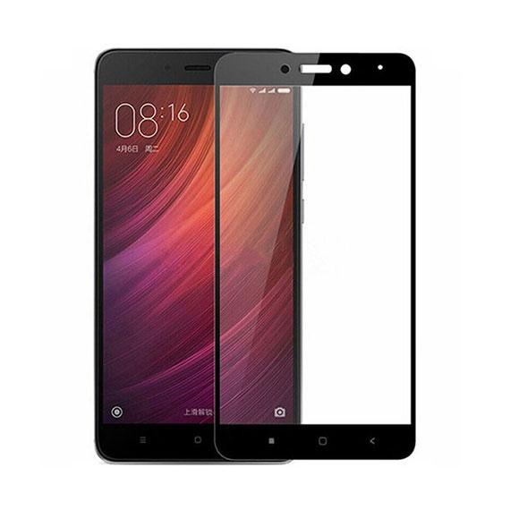 Защитное цветное стекло Mocolo (CP+) на весь экран для Xiaomi Redmi Note 4 (MTK)