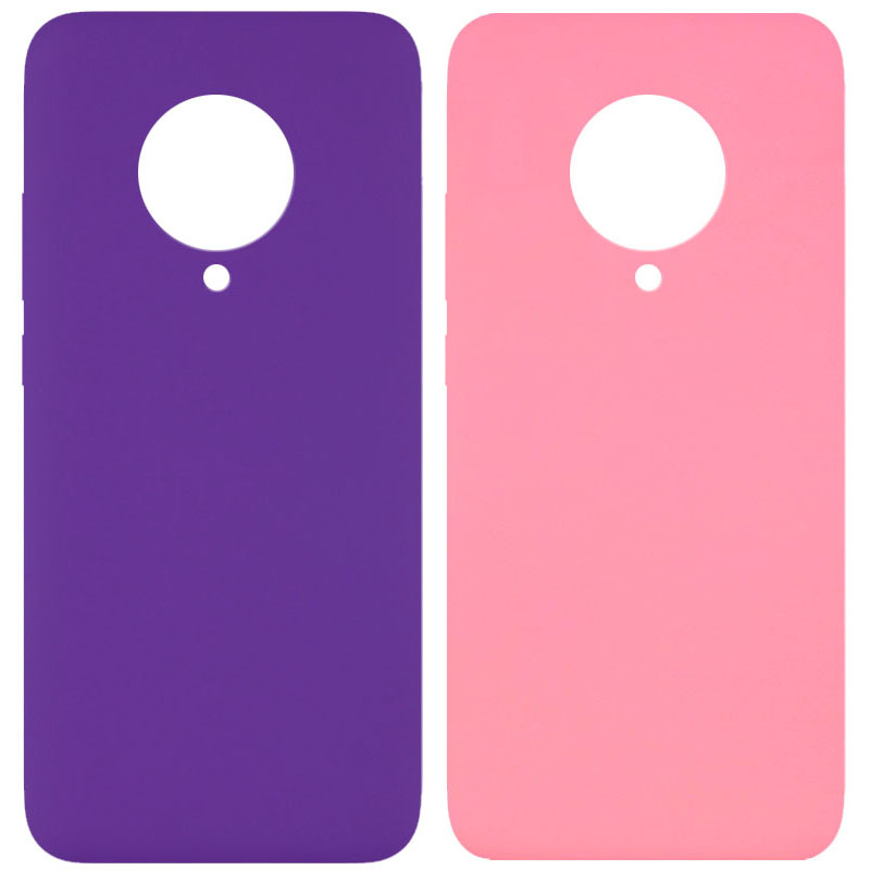 Чехол Silicone Cover Full without Logo (A) для Xiaomi Redmi K30 Pro / Poco F2 Pro
