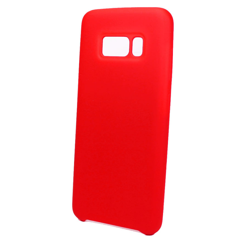 Чехол Silicone Cover without Logo (AA) для Samsung G955 Galaxy S8 Plus