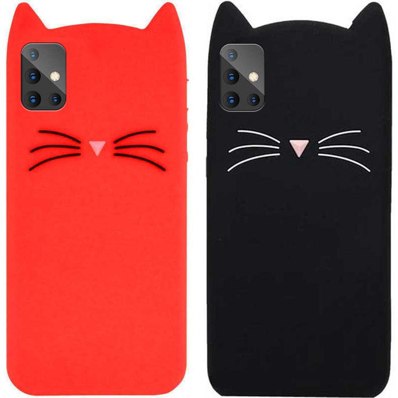 Силиконовая накладка 3D Cat для Samsung Galaxy A51