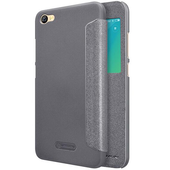Кожаный чехол (книжка) Nillkin Sparkle Series для Xiaomi Redmi Note 5A / Redmi Y1 Lite