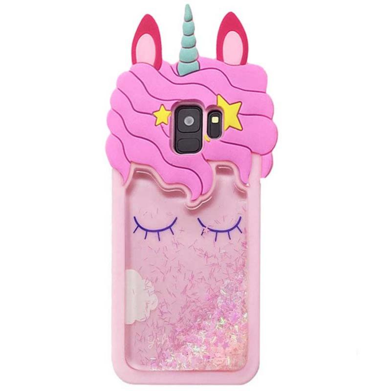 Силиконовый чехол Unicorn 3D для Samsung Galaxy S9