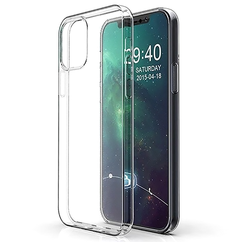 "TPU чехол Epic Transparent 1,0mm для Apple iPhone 12 mini (5.4"")"