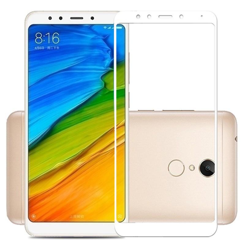 Защитное цветное стекло Mocolo (full glue) на весь экран для Xiaomi Redmi 5 Plus / Redmi Note 5 (SC)
