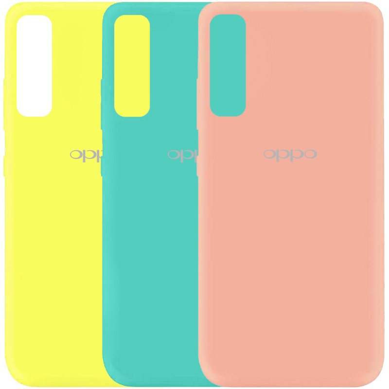Чехол Silicone Cover My Color Full Protective (A) для Oppo Reno 3 Pro