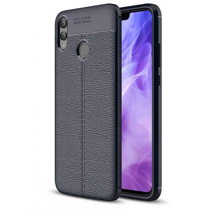 TPU чехол iPaky Litchi Series для Huawei Honor 8X