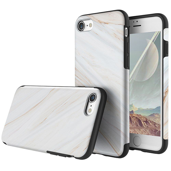 "TPU чехол Rock Origin Series (Textured marble) для Apple iPhone 8 (4.7"")"