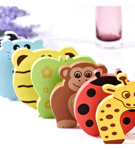 """Веселая накладка на уголки мебели """"Зоопарк"""" для защиты деток"""