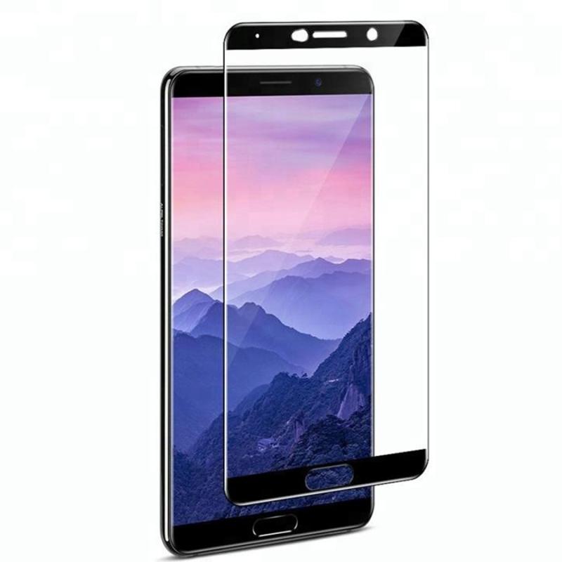 Защитное цветное стекло Mocolo (full glue) на весь экран для Huawei Mate 10