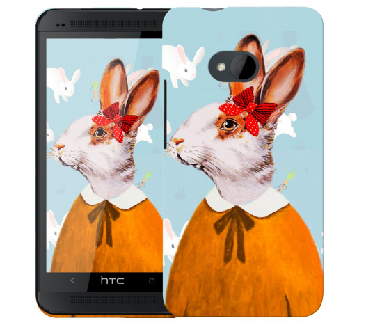 Чехол «Lady Bunny» для HTC One