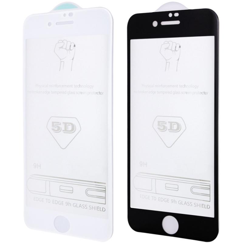 """Защитное стекло 5D Hard (full glue) (тех.пак) для Apple iPhone 7 / 8 / SE (2020) (4.7"""")"""