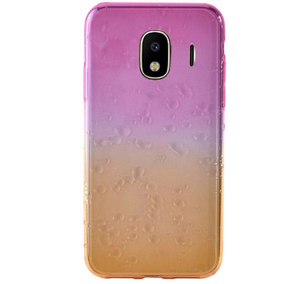 TPU чехол Creative 3D drops gradient для Samsung J400F Galaxy J4 (2018)