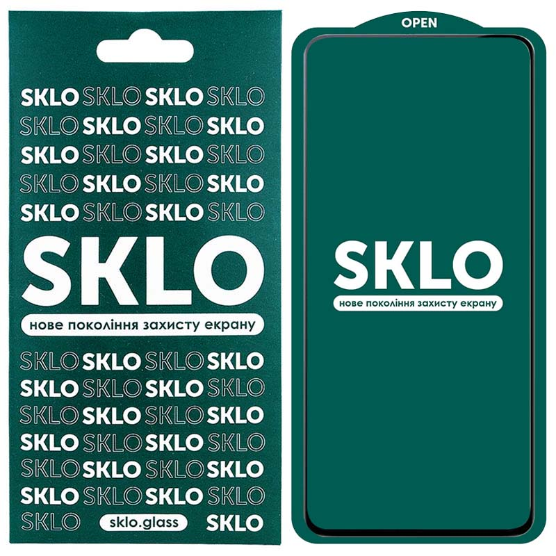 Защитное стекло SKLO 5D (full glue) для Xiaomi Mi 10T Lite/Note 9 Pro 5G/K30 Pro/Poco F2 Pro/Mi 10i