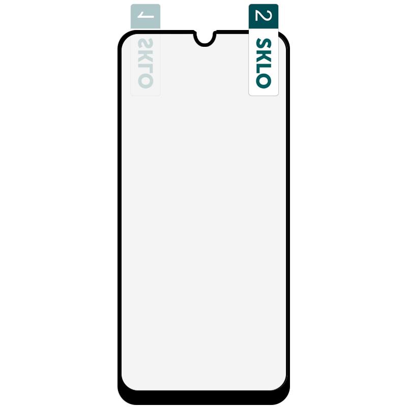 Гибкое защитное стекло SKLO Nano (тех.пак) для Huawei Y6p