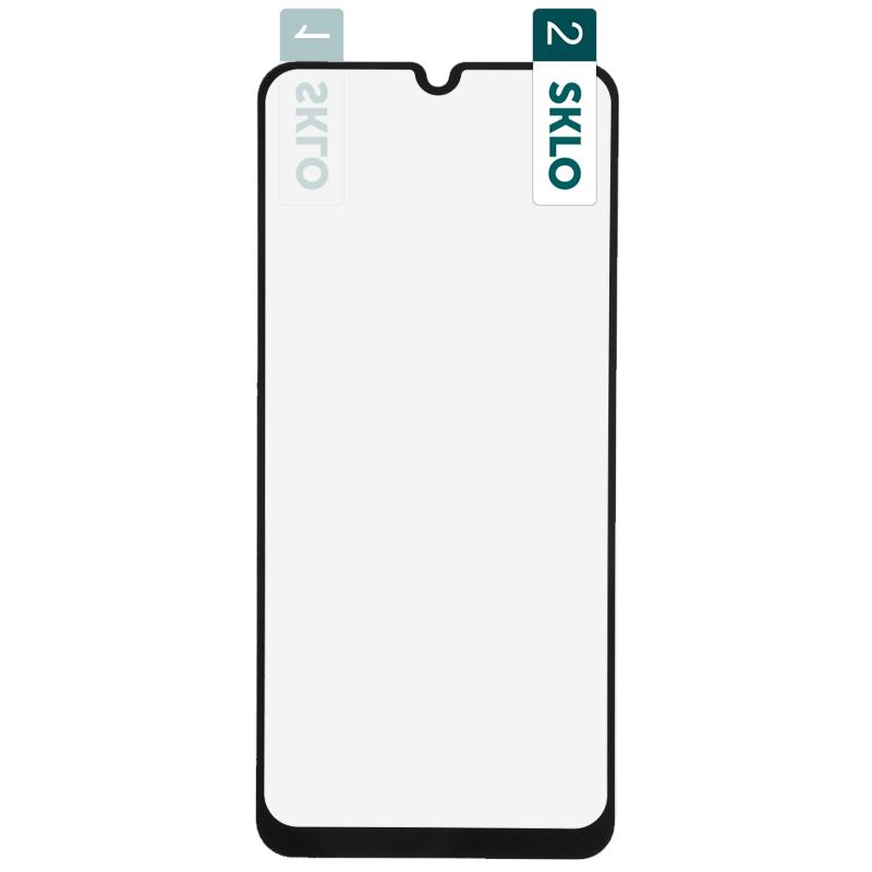 Гибкое защитное стекло SKLO Nano (тех.пак) для Realme C3 / C11 / 6i / 5i / 5