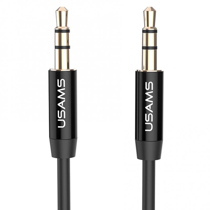 Аудио кабель Usams YP-01 Aux (1m)