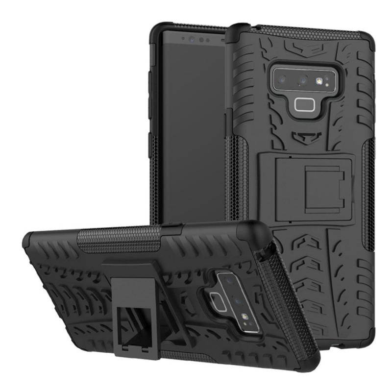 Противоударный двухслойный чехол Shield для Samsung Galaxy Note 9 с подставкой