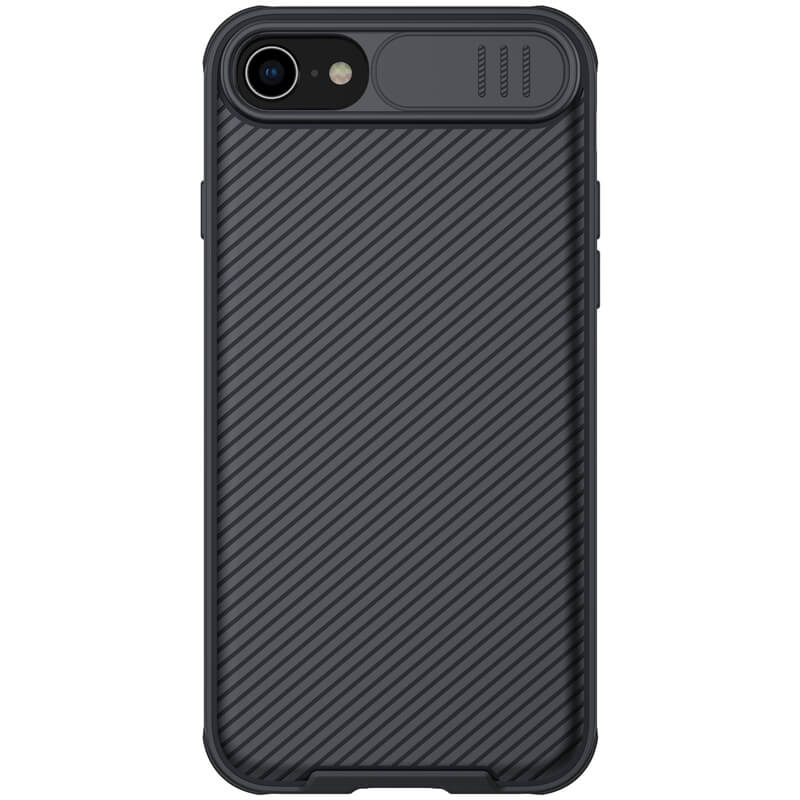 "Карбоновая накладка Nillkin Camshield (шторка на камеру) для Apple iPhone 7 / 8 / SE (2020) (4.7"")"