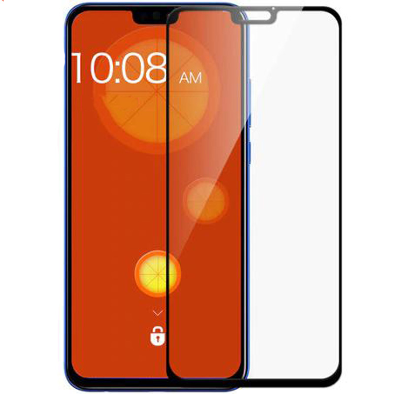 Защитное цветное стекло Mocoson (full glue) на весь экран для Huawei Honor 8X
