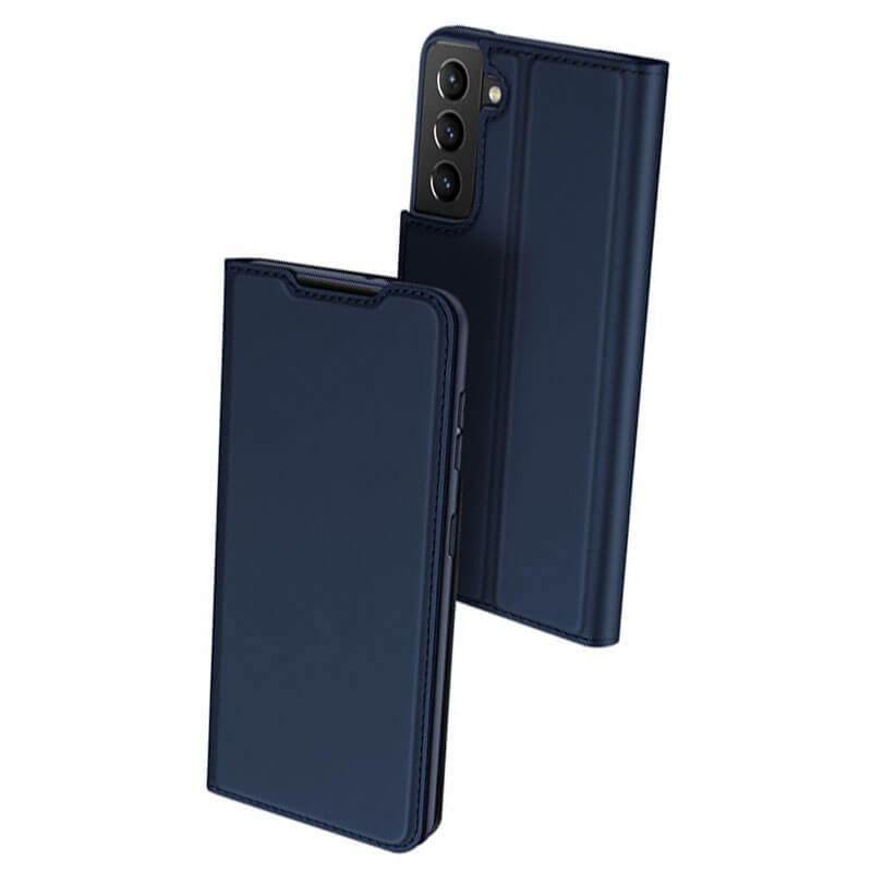 Чехол-книжка Dux Ducis с карманом для визиток для Samsung Galaxy S21