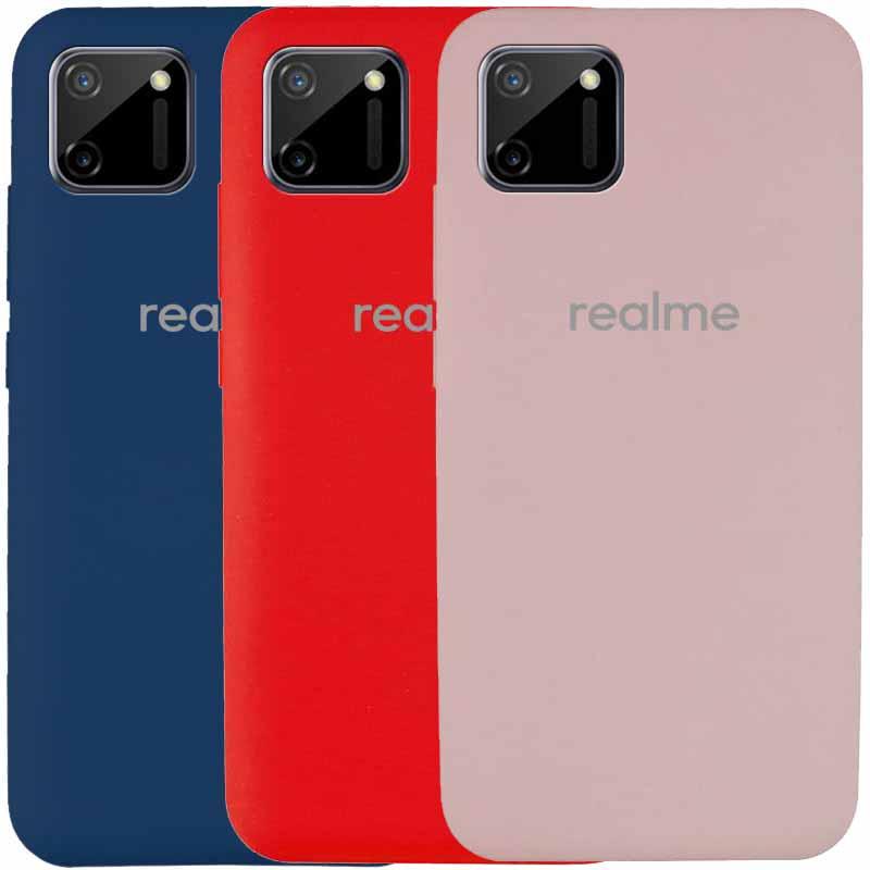 Чехол Silicone Cover Full Protective (AA) для Realme C11