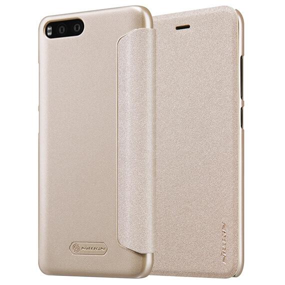 Кожаный чехол (книжка) Nillkin Sparkle Series для Xiaomi Mi 6