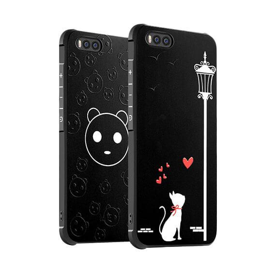 Противоударный TPU чехол Sweet Art для Xiaomi Mi 6