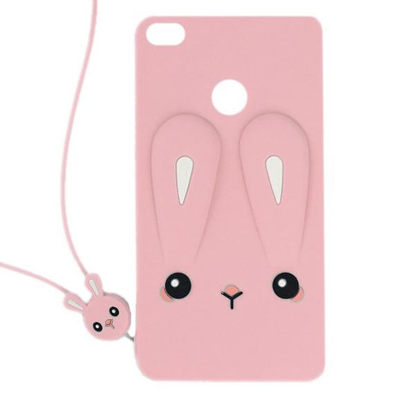 Силиконовая накладка 3D Child Bunny для Xiaomi Redmi 4X