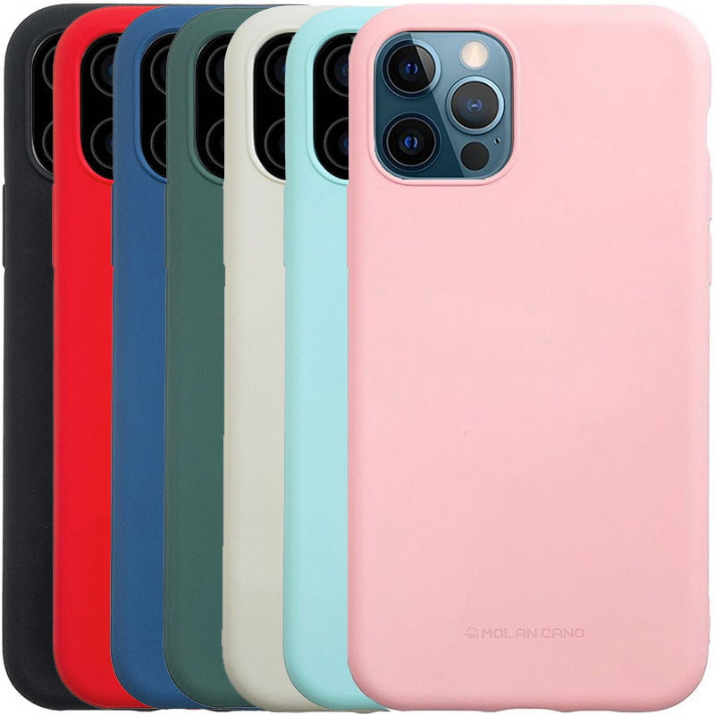 "TPU чехол Molan Cano Smooth для Apple iPhone 12 Pro Max (6.7"")"