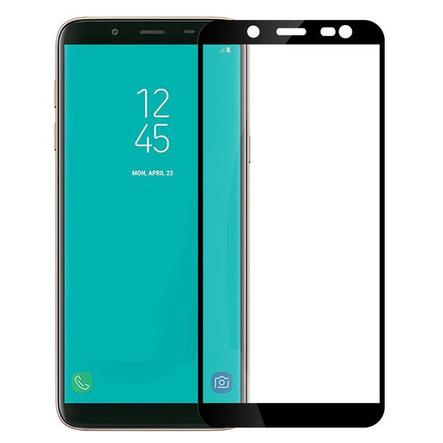 Защитное стекло Artis 2.5D CP+ на весь экран (цветное) для Samsung Galaxy J8 (2018)