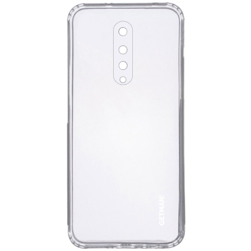 TPU чехол GETMAN Clear 1,0 mm для OnePlus 8