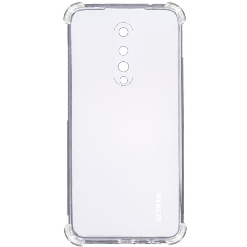 TPU чехол GETMAN Ease logo усиленные углы для OnePlus 8