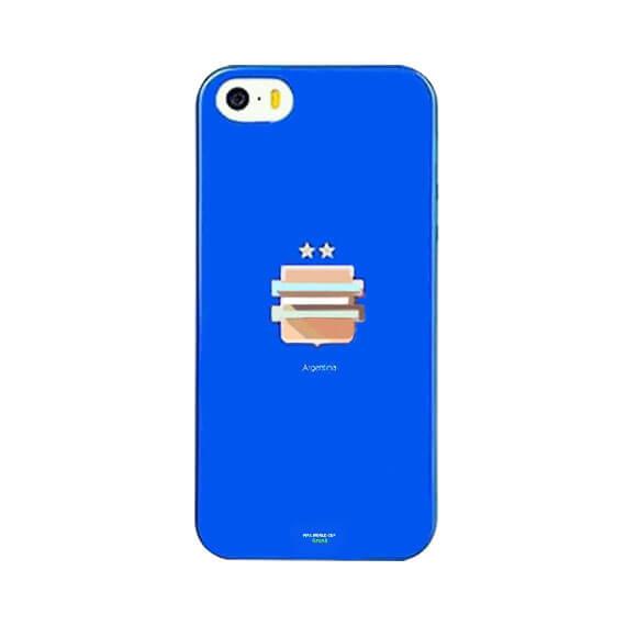 "TPU чехол Remax World Cup ""Argentina"" для Apple iPhone 5/5S/SE"
