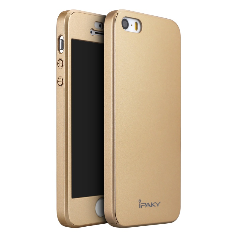 Чехол iPaky 360 градусов для Apple iPhone 5/5S/SE (+ стекло на экран)