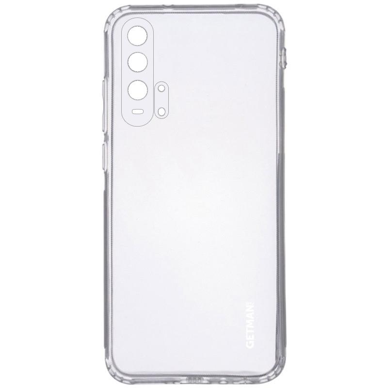 TPU чехол GETMAN Clear 1,0 mm для Huawei Honor 20 Pro